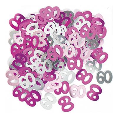 Konfetti Rosa/Silver 60 - 14 gram