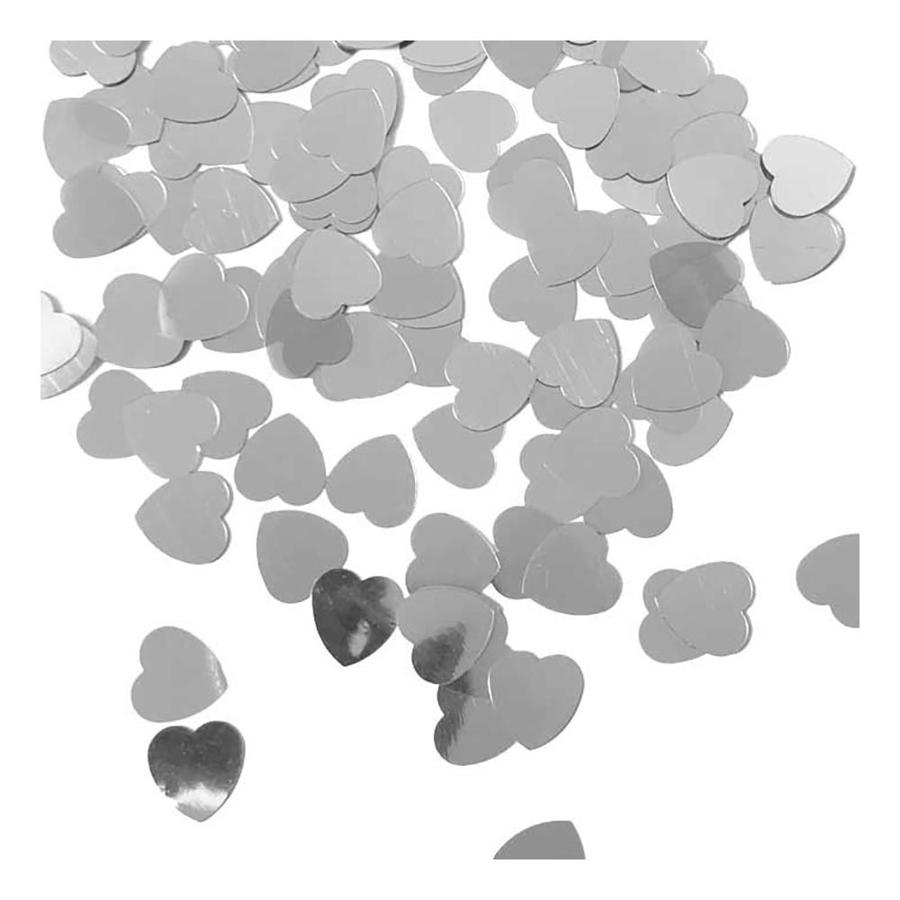 Konfettihjärtan Silver