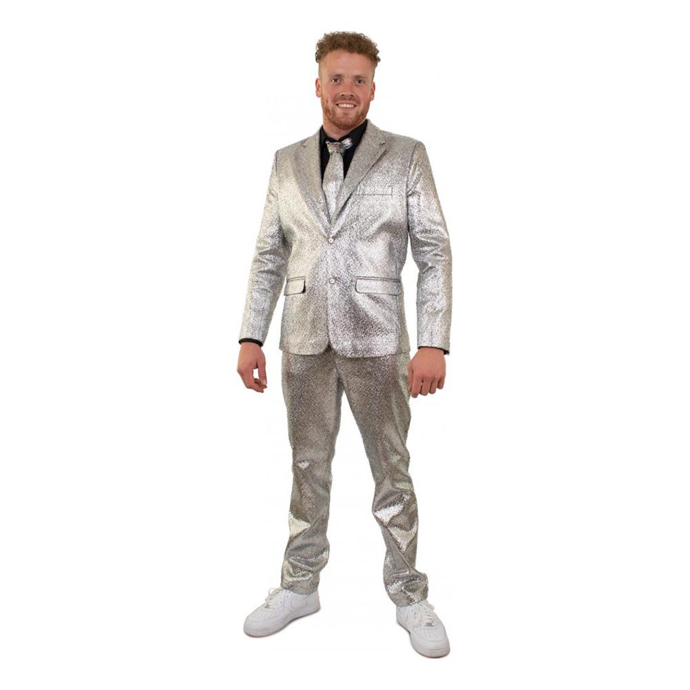 Kostym Silver Herr - 50