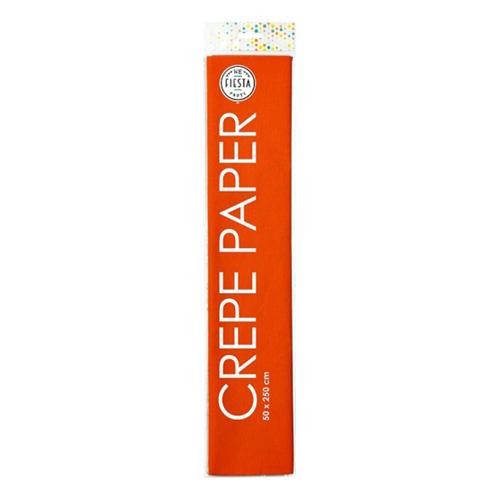 Kräppapper Orange - 50x250cm
