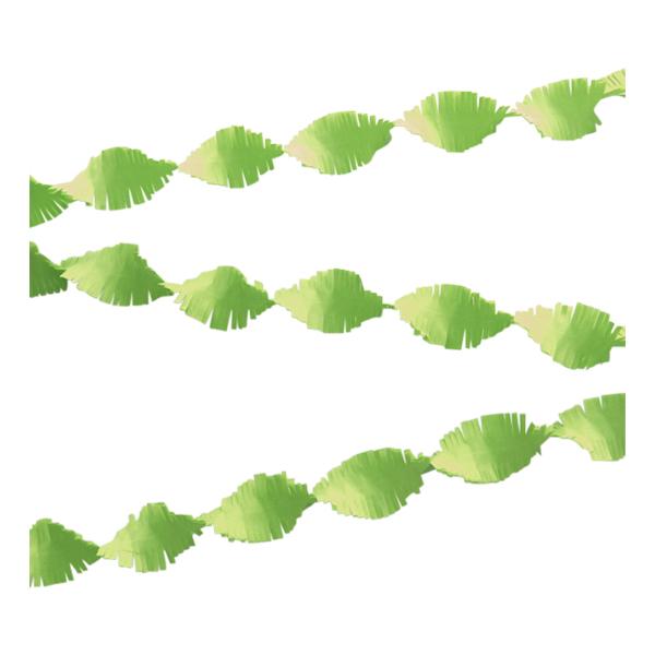 Kräppgirlang Ljusgrön - 6 meter