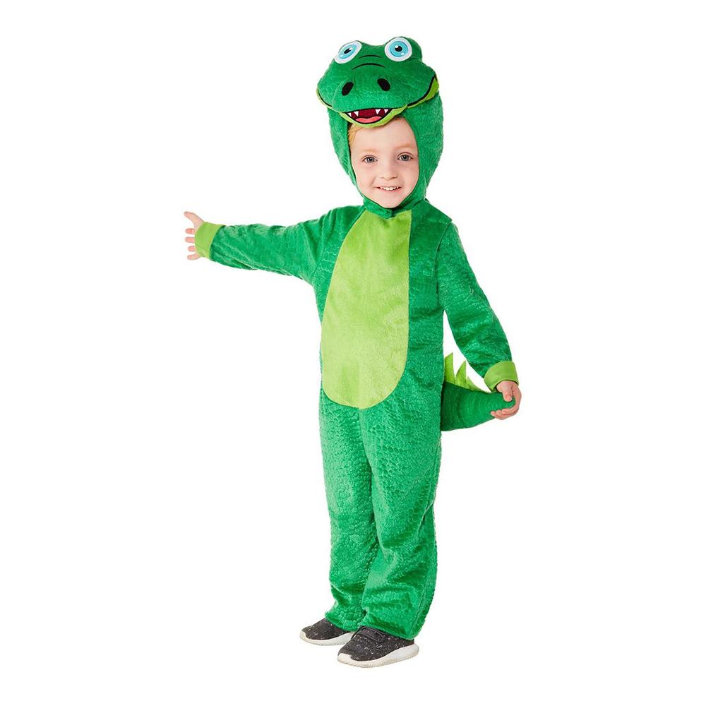 Krokodil Toddler Maskeraddräkt - 1-2 år