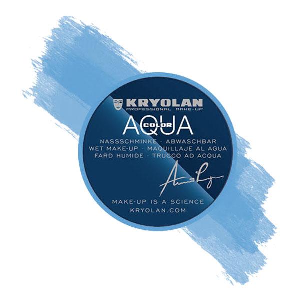 Kryolan Aquacolor Smink - Himmelblå