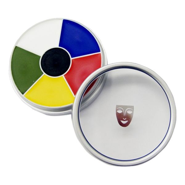 Kryolan Cream Color Circle - Multicolor