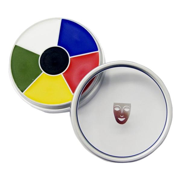 Kryolan Cream Color Circle - Multicolor