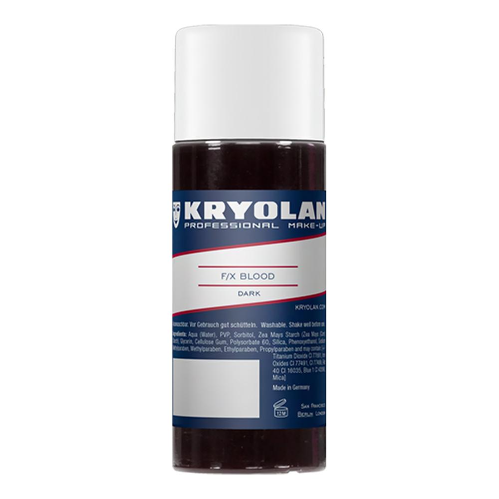 Kryolan F/X Blod - 100 ml Mörkröd
