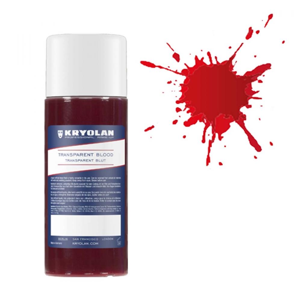 Kryolan Transparent Blod - 250 ml Ljus