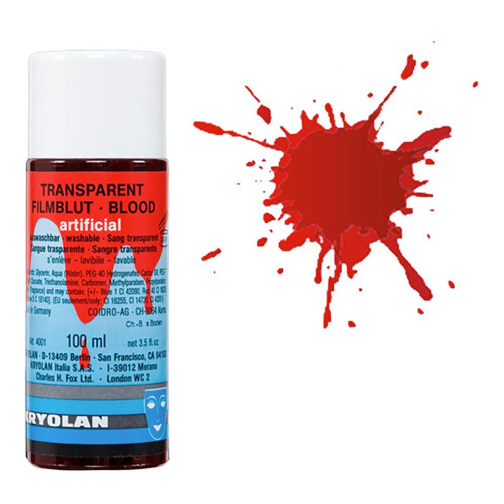 Kryolan Transparent Blod - 100 ml Ljus