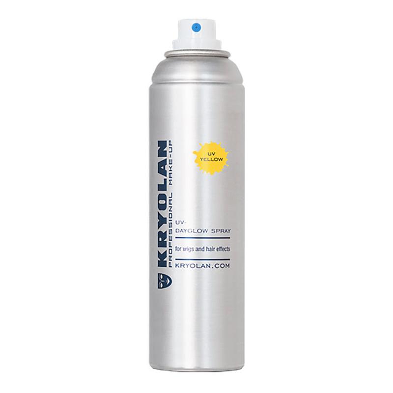 Kryolan UV-Hårspray - Gul