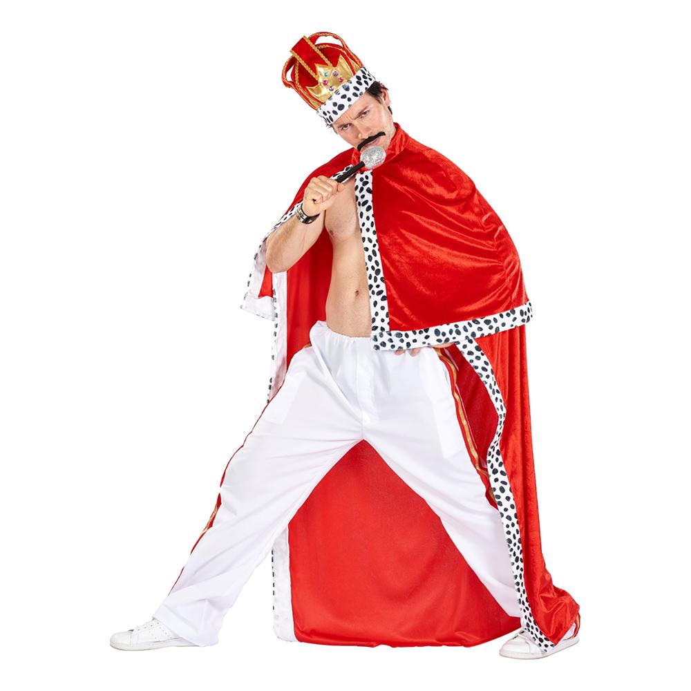 Kung Freddie Maskeraddräkt - Standard