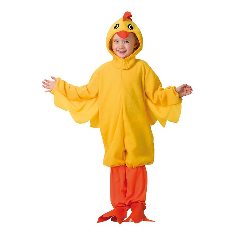 Utklädningsdräkter - Kyckling Barn Maskeraddräkt - Medium