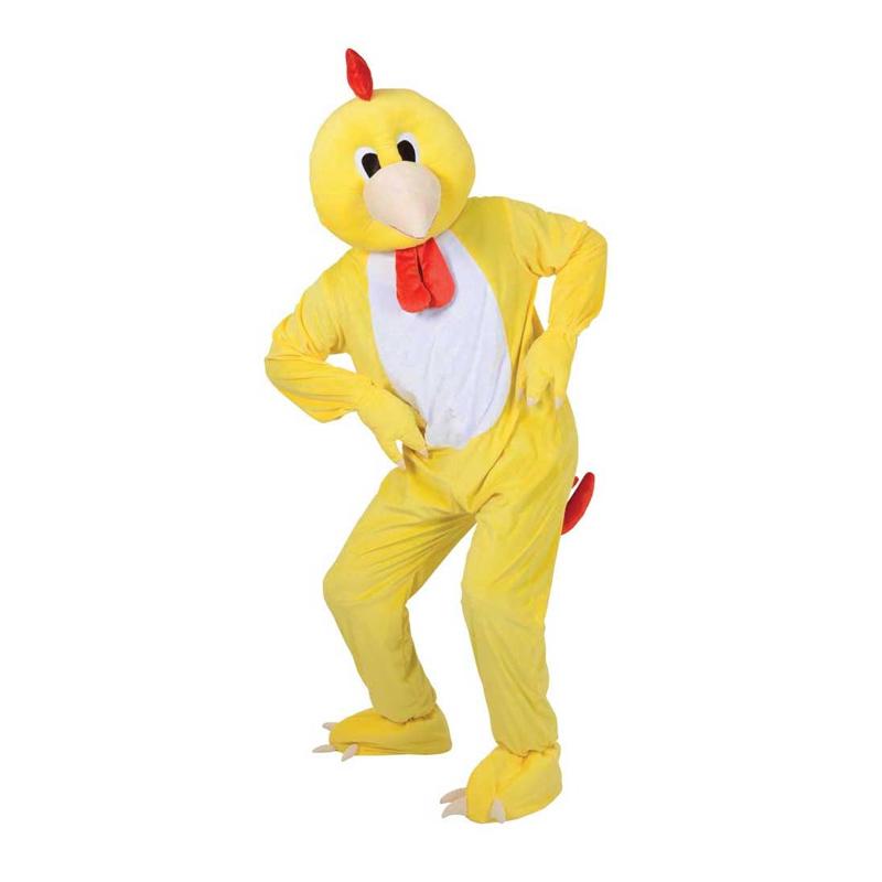 Kycklingmaskot Maskeraddräkt - One size