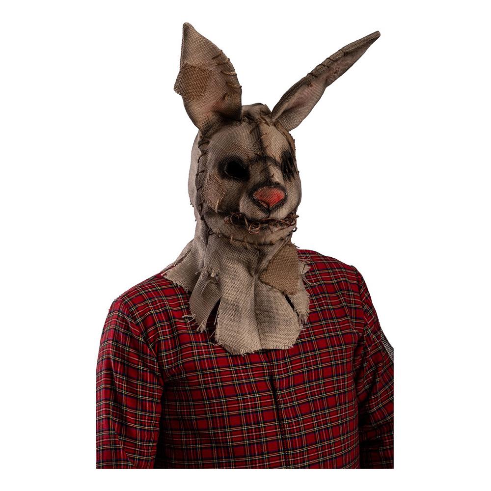 Läskig Kaninmask i Jute - One size