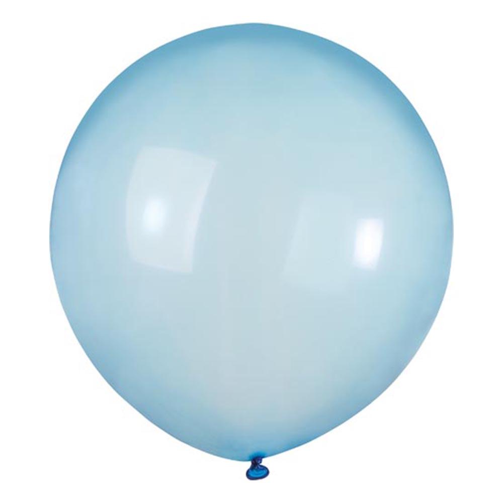 Latexballonger Crystal Ljusblå - 10-pack