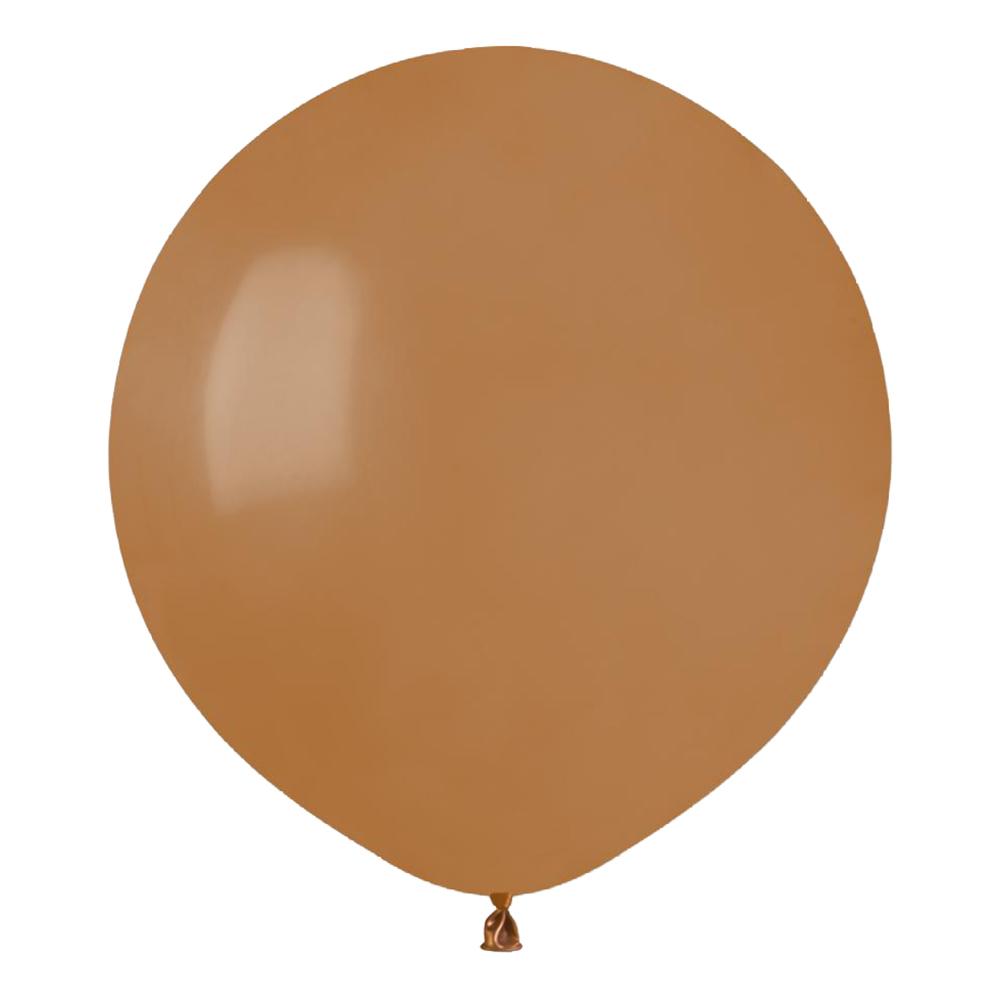 Latexballonger Mocca Rund - 10-pack