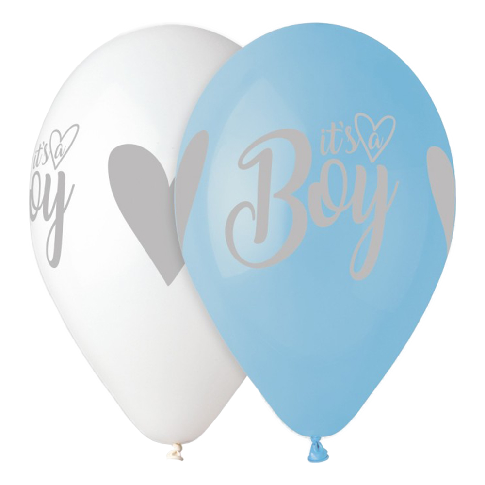 Latexballonger Premium It's a Boy - 5-pack