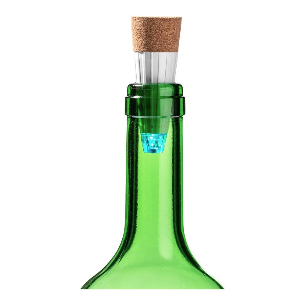 LED Flaskstopp med USB - 1-pack