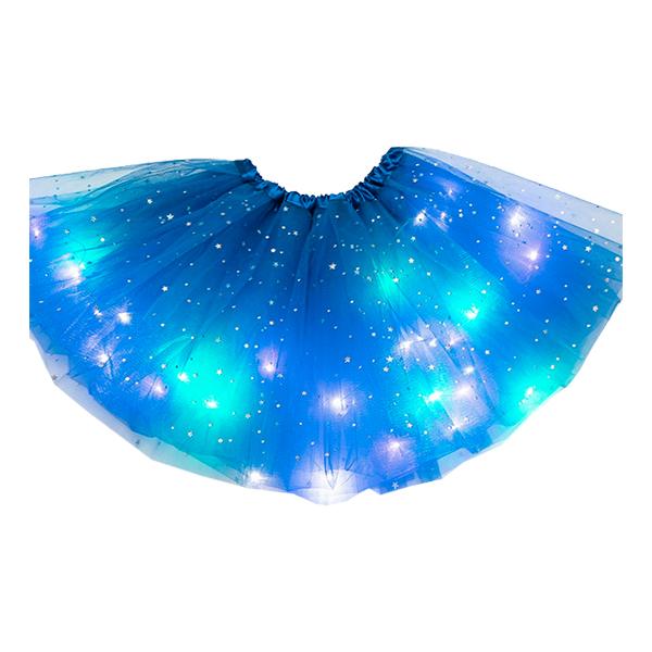 LED Kjol - Blå