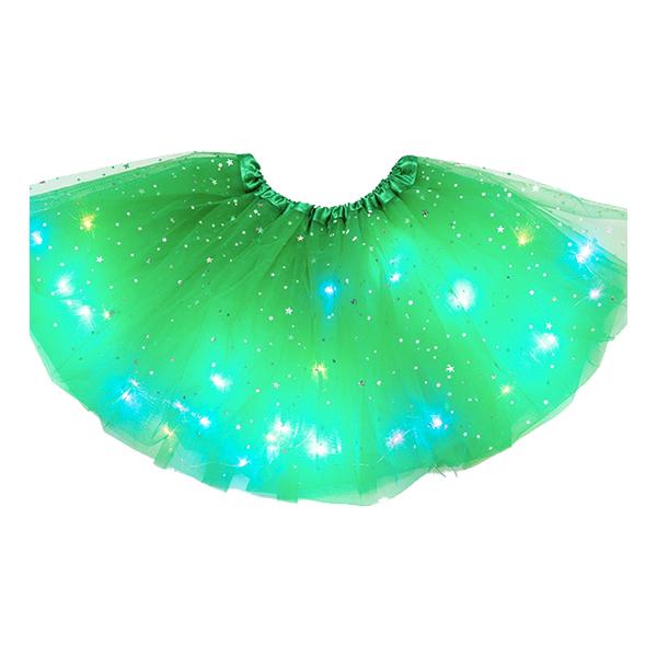 LED Kjol - Grön