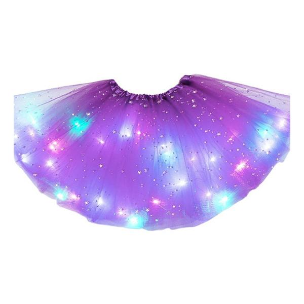 LED Kjol - Lila