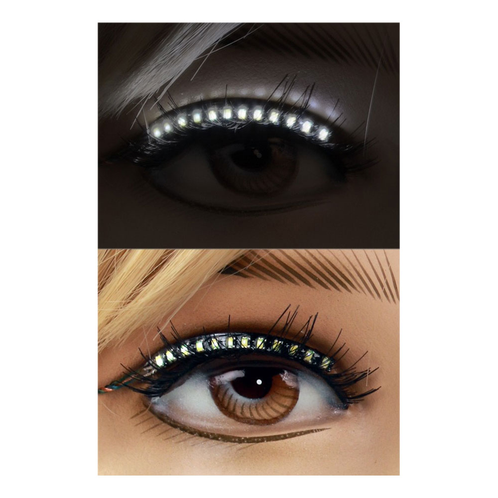 LED Eyeliner Vit - 2-pack