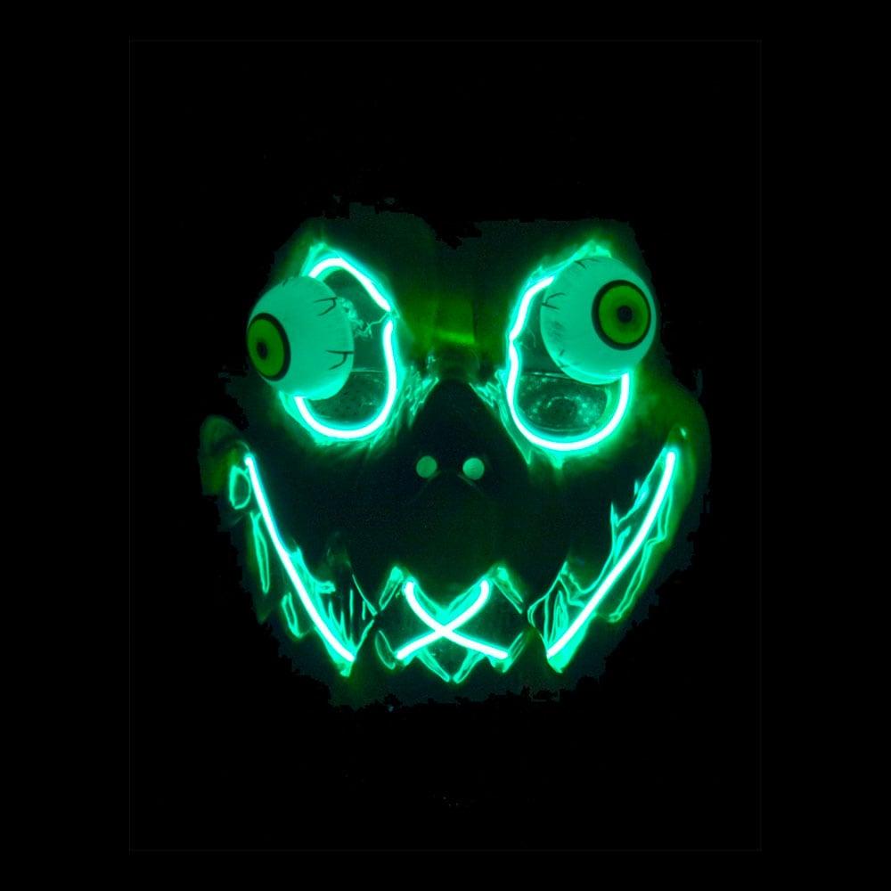 EL Wire Pumpa LED Mask - One size