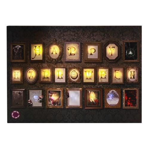LED-tavla Happy Halloween