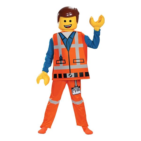 LEGO Emmet Deluxe Barn Maskeraddräkt - Large