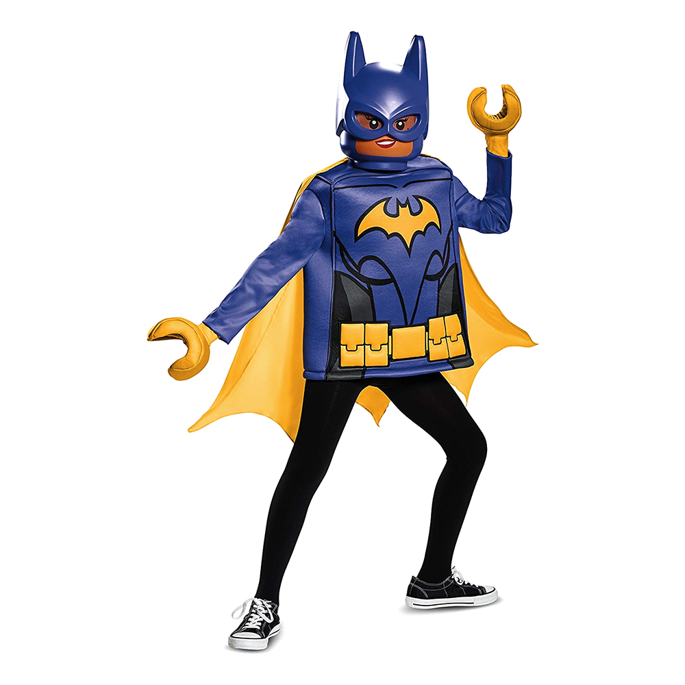 LEGO The Batman Movie Batgirl Barn Maskeraddräkt - Medium