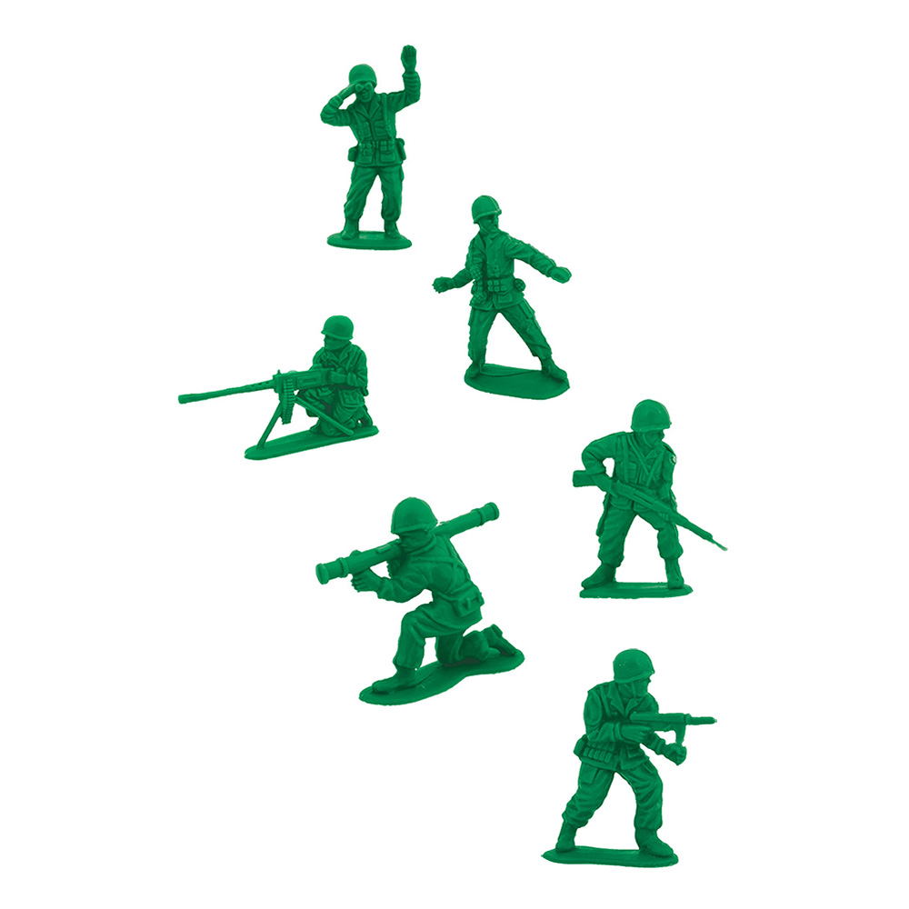 Leksakssoldater - 48-pack
