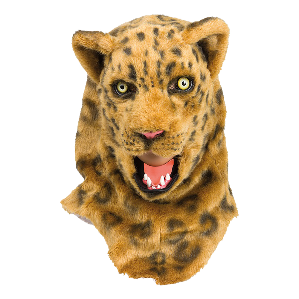 Leopard Deluxe Mask - One size