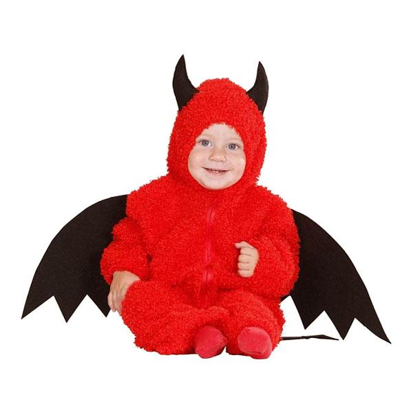 Little Devil Bebis Maskeraddräkt - Medium