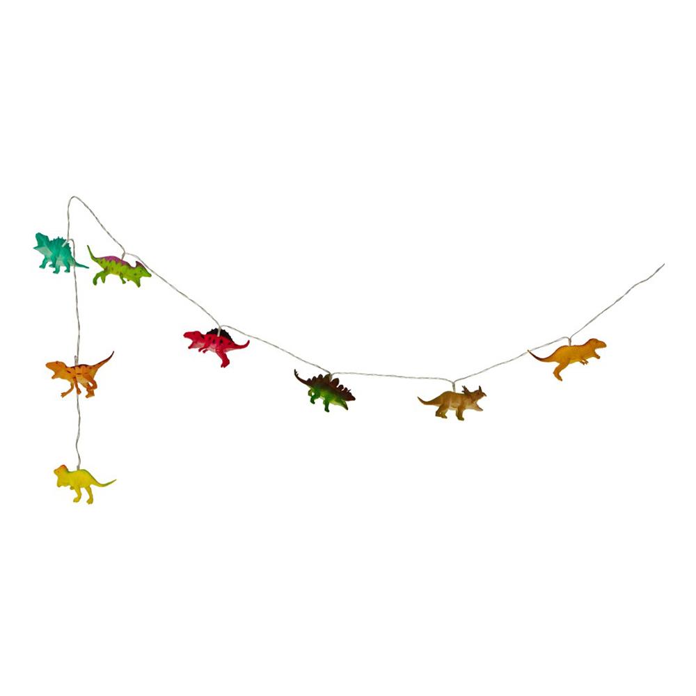Ljusslinga Dinosaurier Flerfärgad