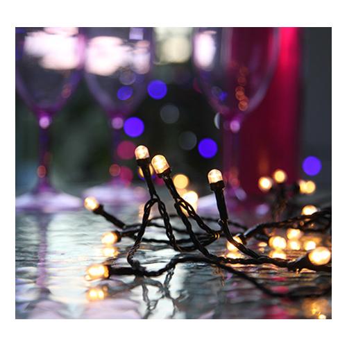 Ljusslinga Party Vit LED