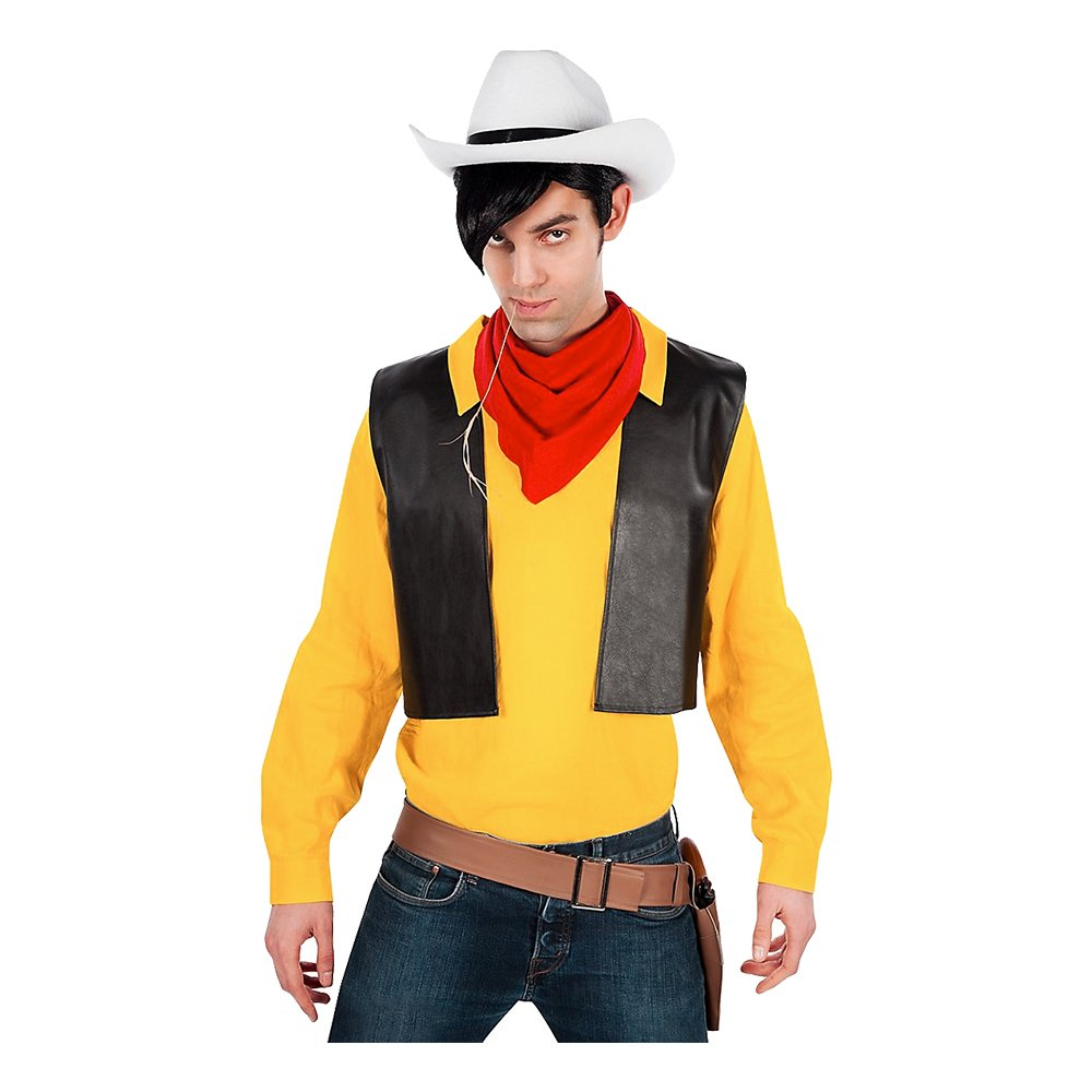 Lucky Luke Cowboy Maskeraddräkt - Small
