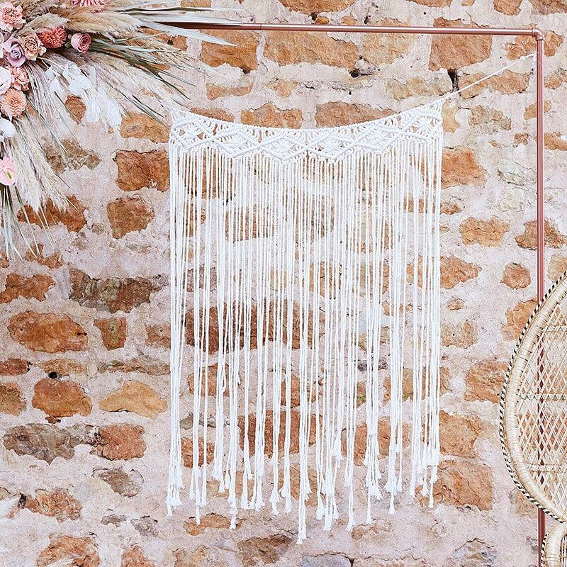 Macrame Väggdekoration Bröllop