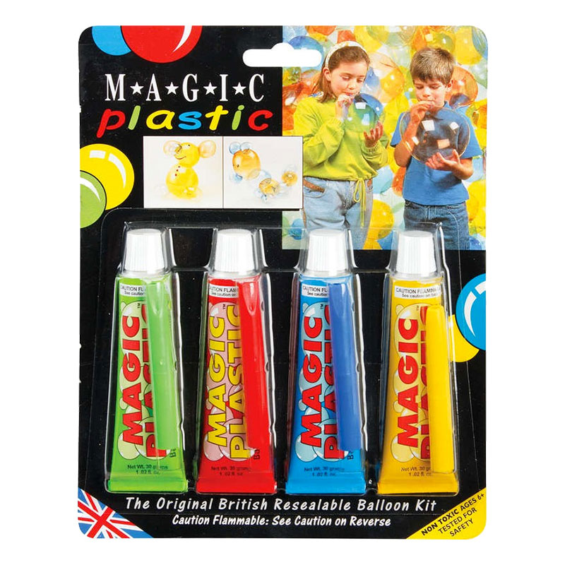 Magic Plastic Flerfärgad - 4-pack