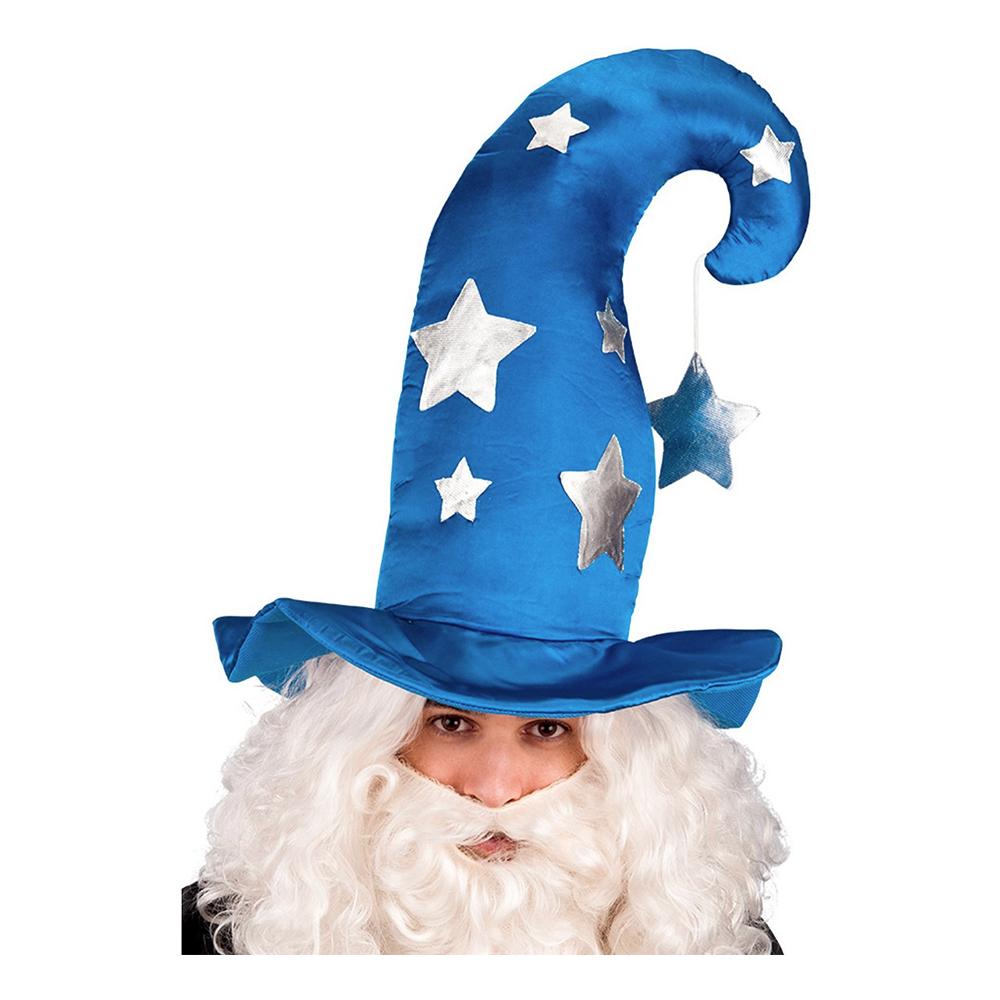 Magiker Hatt med Stjärnor - One size