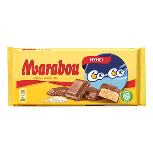 Marabou Coco Chokladkaka - 185 gram