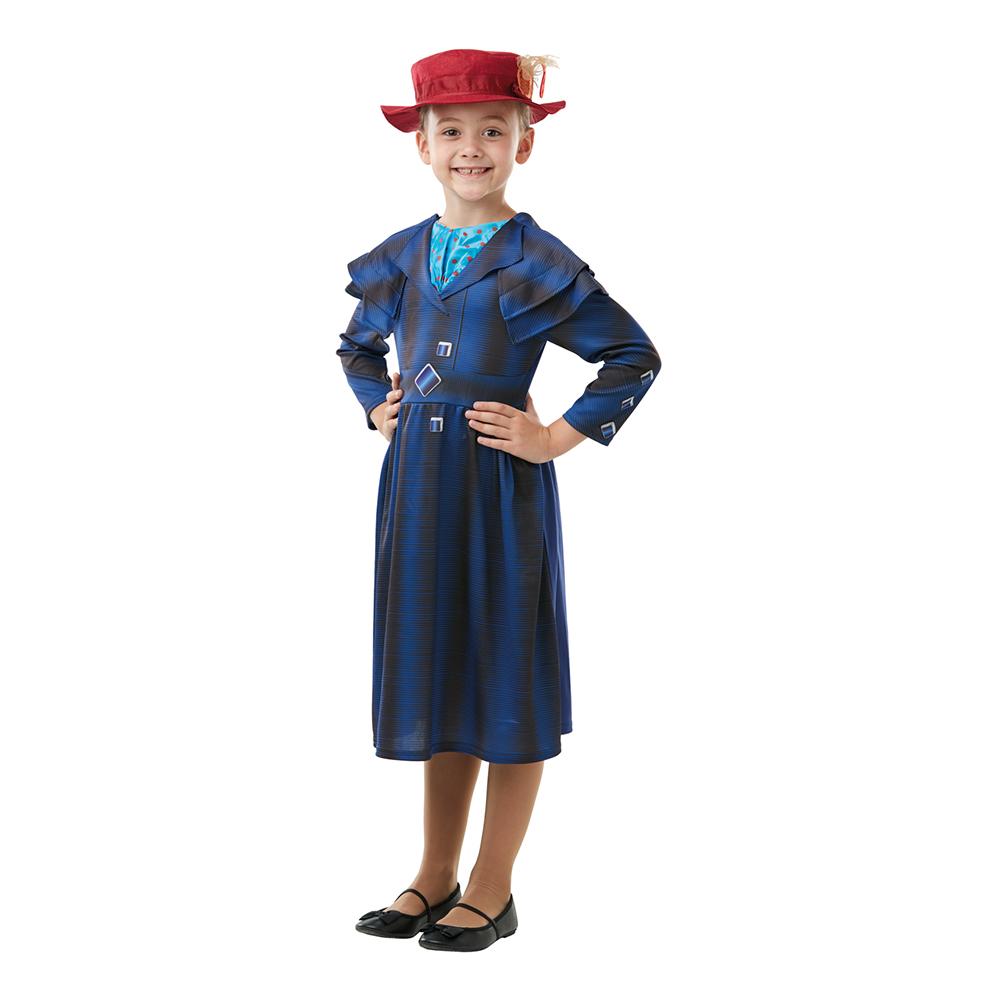 Mary Poppins Returns Barn Maskeraddräkt - Large
