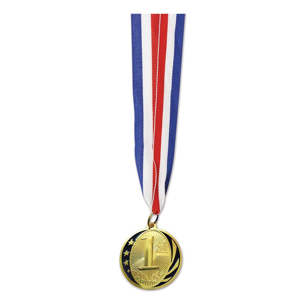 Medalj 1:a plats med Band