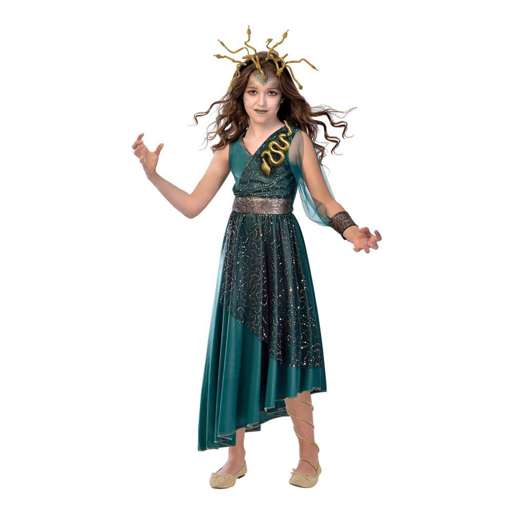 Medusa Barn Maskeraddräkt - Medium (6-8 år)