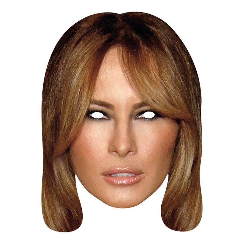 Melania Trump Pappmask