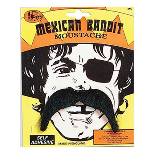 Mexikansk Bandit Mustasch