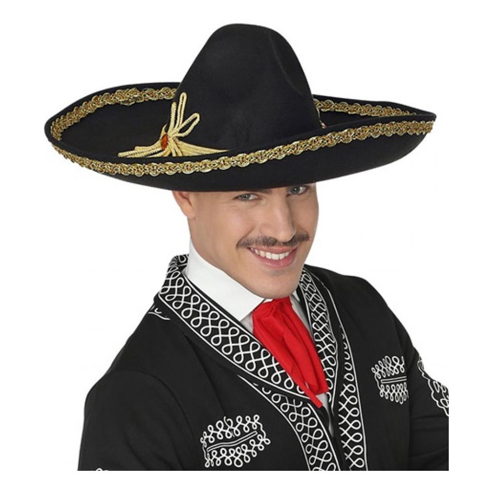 Mexikansk Sombrero Deluxe - One size