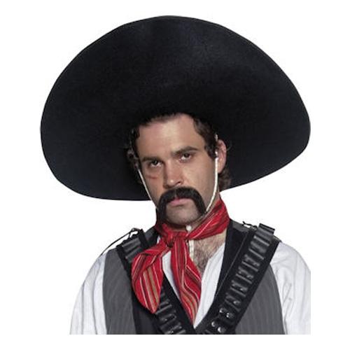 Mexikansk Sombrerohatt - One size