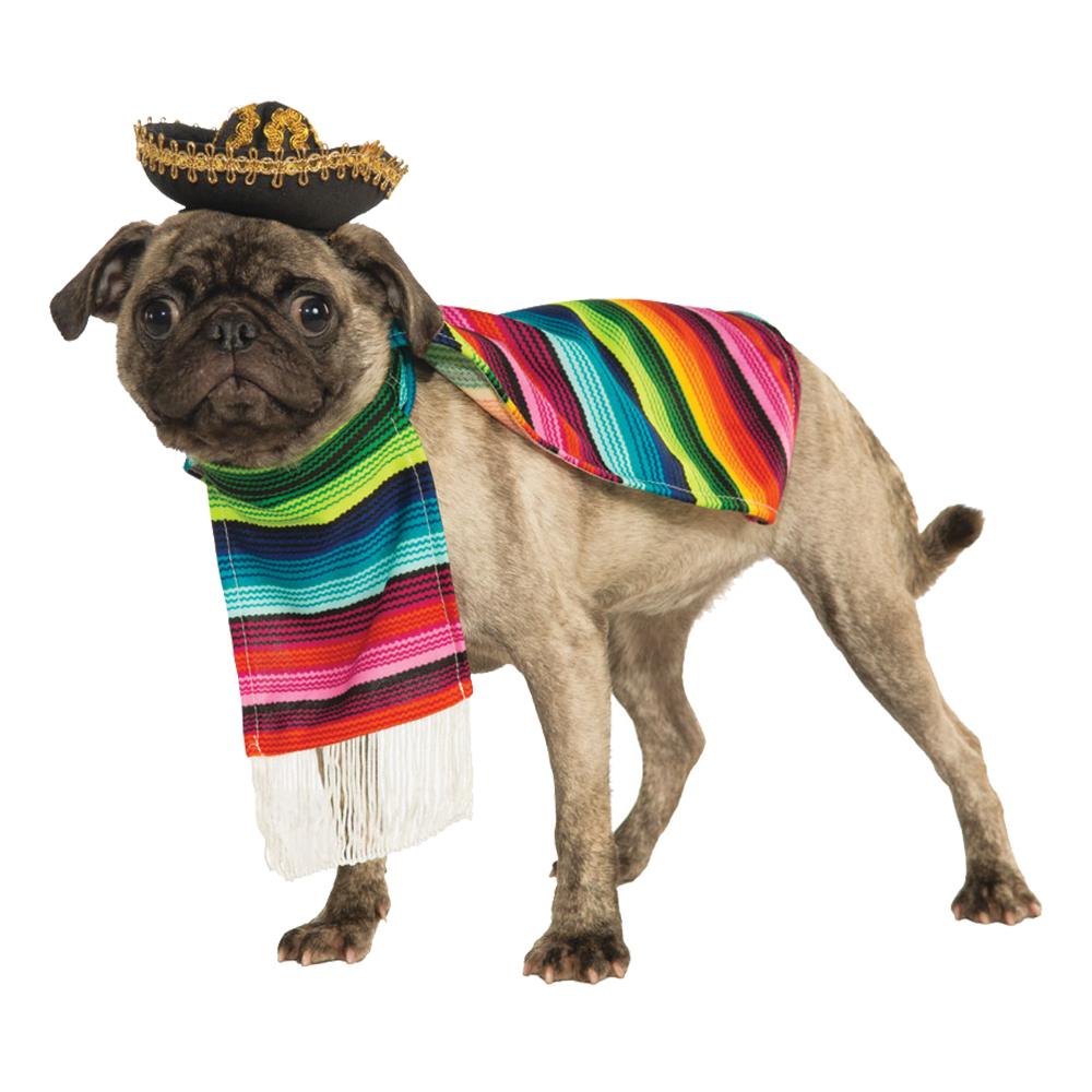 Mexiko Hund Maskeraddräkt - Small