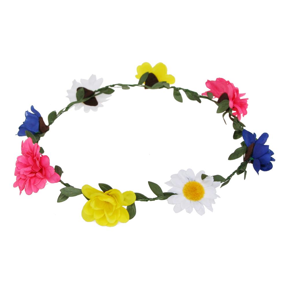 Midsommarkrans Blommor Flerfärgad - 1-pack