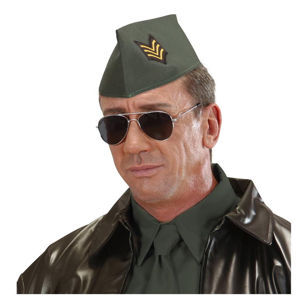 Militärhatt Grön - One size