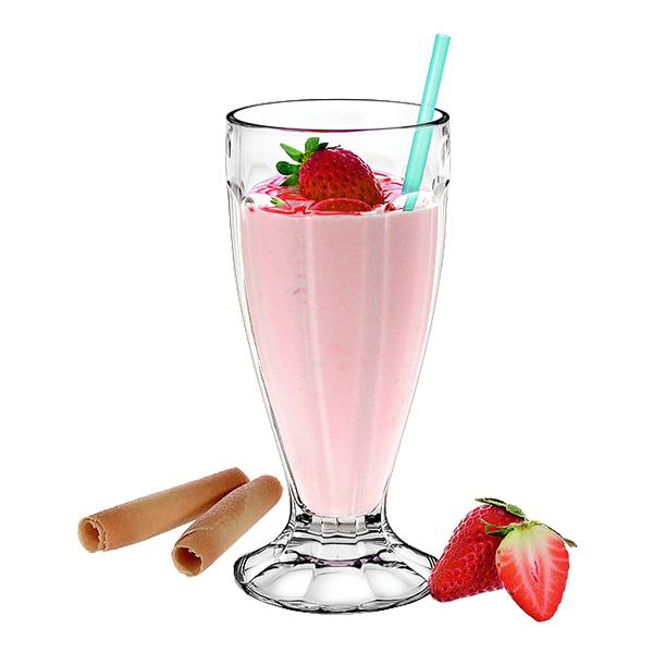 Milkshake Läskglas - 6-pack